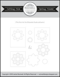 Rockwell Designs: Free Silhouette Cameo Studio Files