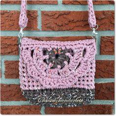 Virkad väska, Crochet bag