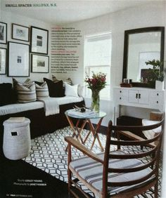 HOUSE & HOME'S SMALL SPACES ISSUE