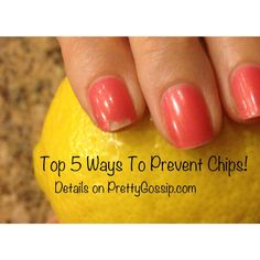 Game Changer in preventing nail chips! 5 tips every girl should know. MUST Pin and Try.