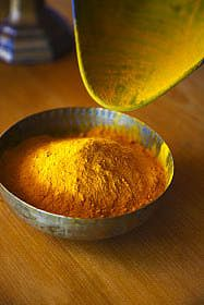 Can Turmeric Really Improve Your Skin? fights free radical damage, improves scaring from acne, evens out skintone more .. make sure it is 100% Tumeric, free of additives.