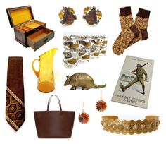 Truth be told. Brown & Gold by seasidecollectibles on Polyvore featuring Zara, J.Crew and vintage