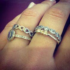 #pandora #pandorarings #zarapxana #zarapxanajewelry #mynewobsession #myfavorite