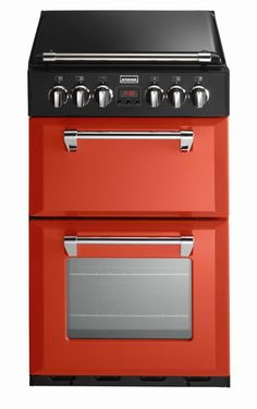 Stoves RICHMOND 550DF Dual Fuel Cooker in Paprika