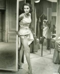 Cyd Charisse in Silk Stockings.