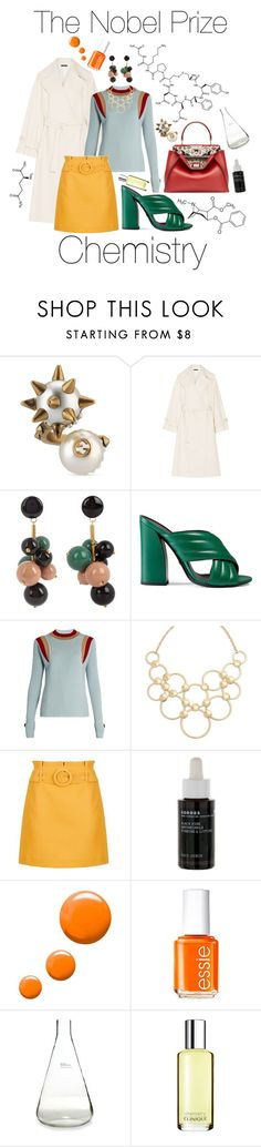 """Chemistry"" by tilda-s-lindqvist ❤ liked on Polyvore featuring Gucci, The Row, Marni, Vera Bradley, Topshop, Korres, Essie, HomArt and Clinique"