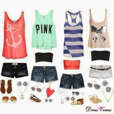 Choose your favorite color outfits