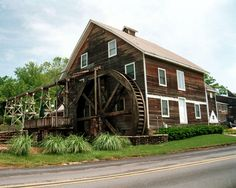 Inn at the Mill, Johnson, AR | Inn At the Mill, Johnson's Grist Mill.... I would drive past this Mill almost every morning when I lived in Fayetteville..(Medic)