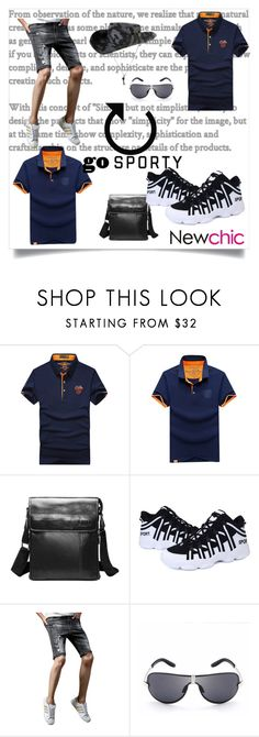 """""""#Newchic"""" by kristina779 ❤ liked on Polyvore featuring men's fashion, menswear, polyvorefashion and polylove"""