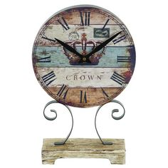 I pinned this Alsace Clock from the Grove Street Designs event at Joss and Main!
