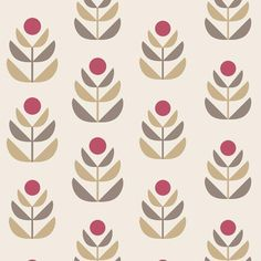 Brewster Home Fashions Simple Space II Oslo Tulip x Floral Embossed Wallpaper Color: Red