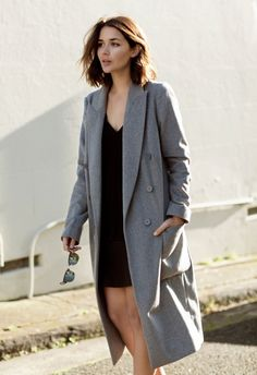 all gray outfit - Google Search