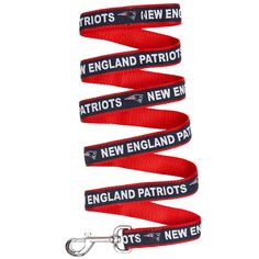 NFL New England Patriots Pet Leash, Medium * Be sure to check out this awesome product. (This is an Amazon affiliate link)