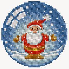 Cross Stitch Christmas Ornaments, Xmas Cross Stitch, Cross Stitch Baby, Christmas Embroidery, Cross Stitch Kits, Christmas Cross, Cross Stitch Designs, Cross Stitching, Cross Stitch Embroidery