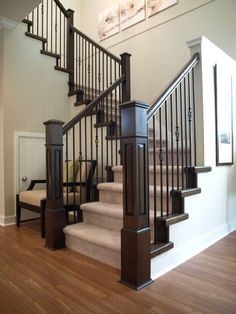 Custom Staircase Railings Serving Surrey, BC And Surrounding Areas RVRS    Rick VanderHeide Renovation Specialist