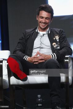 Executive producer James Franco of 'The Deuce' speaks onstage during the HBO portion of the 2017 Summer Television Critics Association Press Tour at The Beverly Hilton Hotel on July 26, 2017 in Beverly Hills, California.