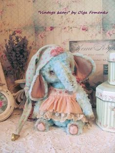 Teddy elephant Manu By Fomenko Olga - Bear Pile