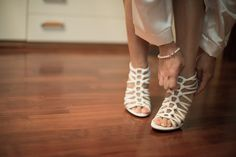 My white sandals by Casadei