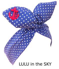 Pin Up ROCKABILLY Wire Headband  Blue by LULUGOESROCKABILLY, £6.50