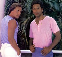 Miami Vice! An old boyfriend and I spent Friday night dates watching this show!