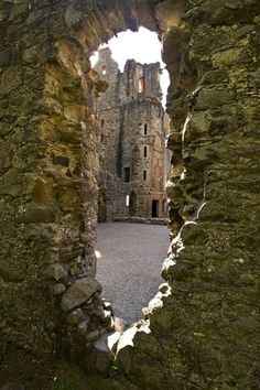 Huntly Castle Ruins