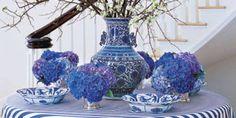 7 Ways to Decorate With Blue and White  - Veranda.com