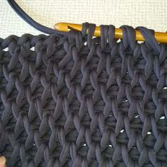 Koukkuamissilmukoita | Tunisian crochet stitches