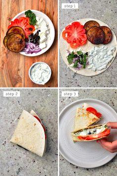 Viral Tortilla Hack (20 Global Filling Ideas Low-carb Options!) Low Carb Dinner Recipes, Entree Recipes, Wrap Recipes, Veggie Recipes, Healthy Recipes, Diet Recipes, Tortilla Wraps, Vegan Rice Paper Rolls, Gluten Free Wraps