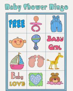 Bingo para Baby Shower para Imprimir Gratis. Bingo Baby Shower, Baby Shower Printables, Shower Party, Free Printables, Diy Baby Shower Decorations, Baby Shawer, Baby Love, Elmo, Baby Shower Unisex