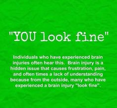 Concussion Quotes Tbi Hope And Inspiration #brain Injury #brain Injury Association Of