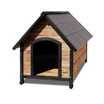 "Outback Extreme Country Lodge Dog House Size: Giant (36"" W x 40"" D)"