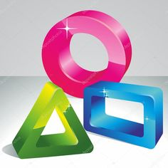 Resultado de imagen para VINILOS 3D FIGURAS GEOMETRICAS Symbols, 3d, Outdoor Decor, Home Decor, Vinyls, Room Decor, Icons, Home Interior Design, Home Decoration