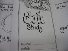 Rocks and Minerals- Soil Study..for 3rd grade but could adapt for middle school.