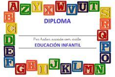 Els nostres moments a l'aula d'infantil: Diploma para P5