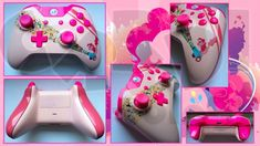 Custom Pinkie Pie Xbox One Controller Party Cannon by CARDI-ology