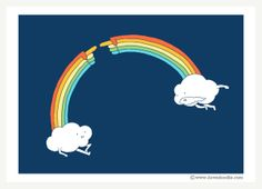 the creation of rainbow Rainbow Connection by Heng Swee Lim