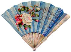 Vintage Graphic - Stunning French Fan - The Graphics Fairy