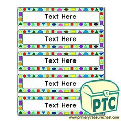 Classroom Equipment Drawer Labels & Posters - Primary Treasure Chest Classroom Organisation, Organization, Teaching Activities, Teaching Ideas, Drawer Labels, Education Information, Classroom Signs, Classroom Environment, Treasure Chest