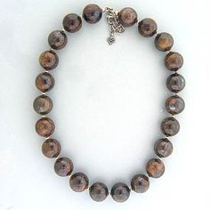 Now retired, love this bronzite necklace!