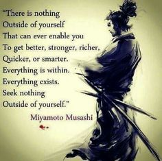 Everything is within.