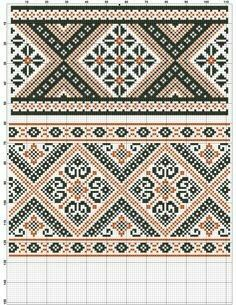 Towel Embroidery, Folk Embroidery, Ribbon Embroidery, Cross Stitch Embroidery, Embroidery Patterns, Cross Stitch Patterns, Cross Stitch Boards, Cross Stitch Rose, Crochet Boarders