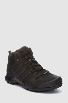 Mens adidas Black Terrex Swift R2 Mid - Black 2848050d2