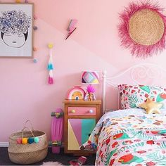 Serious girl bedroom envy!!! The @goosebumpsboutiquebedding Lady Bug Love quilt is looking right at home in your Super glorious home @saral0zz Shop this bedding online now under BED > GOOSEBUMPS to make someone's Christmas and bedroom magical #goosebumps #freeshippingonordersover150 #jumbledonline #girlsbedding