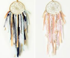 Dreamcatchers are such a beautiful, whimsical touch in a nursery!