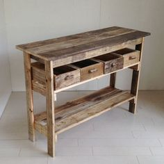 Wood Pallet Crafts, Rustic Wood Crafts, Wooden Pallet Projects, Woodworking Projects Diy, Rustic Outdoor Furniture, Wood Pallet Furniture, Wood Pallets, Diy Furniture, Pallet Wood
