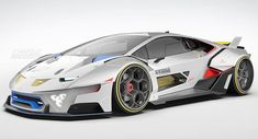 Lamborghini Concept, Lamborghini Huracan, Mustang Tuning, Racing Car Design, Cool Sports Cars, All Cars, Concept Cars, Supercars, Cyberpunk