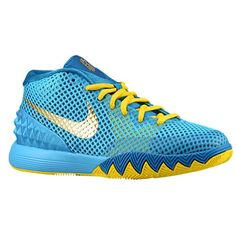 new product aec55 2ece8 Yellow Sneakers, Yellow Shoes, Sneakers Nike, Sneakers Fashion, Blue Yellow,  Kyrie