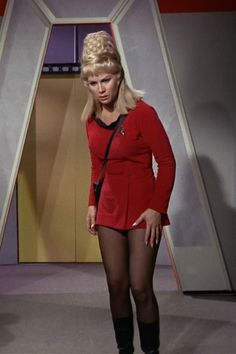 Grace Lee Whitney | Grace Lee Whitney as Yeoman Janice Rand in the original