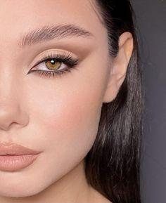 Makeup Eye Looks, Creative Makeup Looks, Soft Makeup, Natural Makeup, Subtle Eye Makeup, Simple Makeup Looks, Nude Makeup, Glam Makeup, Makeup Tips