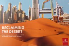 Open Skies Magazine, EMIRATES onboard magazine April 2018 Guide to Dubai/Rd.Trip